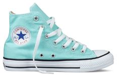 Tiffany Blue Converse.....I want these in my closet!