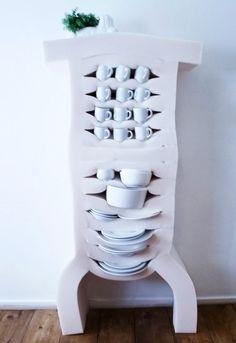 Les meubles mousse de Studio Dewi Van De Klomp