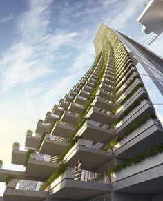 moshe safdie: chongqing chaotianmen [Future Architecture: http://futuristicnews.com/category/future-architecture/]