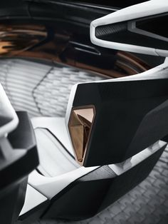 Peugeot Fractal Concept interior design.More car design here.