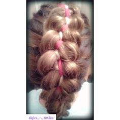 5 strand ribbon braid.