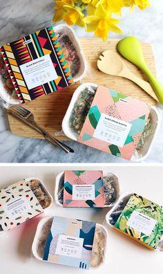 All plants packaging Food Box Packaging, Dessert Packaging, Bakery Packaging, Food Packaging Design, Packaging Design Inspiration, Coffee Packaging, Bottle Packaging, Food Branding, Corporate Branding