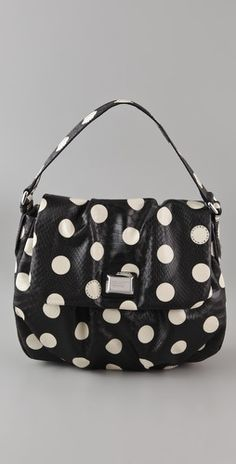 Marc by Marc Jacobs Dotty Snake Lil Ukita Bag (Shopbop) Polka Dot Bags, Polka Dots, Cool Backdrops, Vintage Trends, Gold Diy, Marc Jacobs Bag, Comfortable Shoes, What I Wore, 5 D