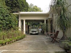 Architecture Porte Cochere The Portico Car Park From Ouno Design Blog Bungalow Decor Ideas Edwin Lutyens