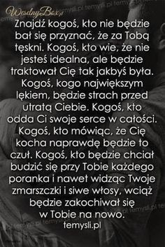 Stylowa kolekcja inspiracji z kategorii Design Wisdom Thoughts, Couple Quotes, Romantic Quotes, All You Need Is Love, Motto, Psychology, It Hurts, Poems, Humor