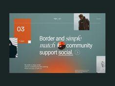 Weekly Design Inspiration #305 - Muzli - Design Inspiration Creative Web Design, Simple Website, Graphic Design Trends, Business Card Design, Cool Designs, Design Inspiration, Concept, Style, Desktop