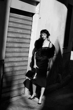 Mariacarla Boscono by Peter Lindbergh for Vogue Italia February 2014 10