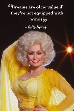 11 Brilliant Pieces of Life Advice, Courtesy of Dolly Partoncountryliving Dolly Parton Zitate, Dolly Parton Birthday, Steel Magnolias Quotes, Dolly Parton Quotes, Dolly Parton Music, Famous Women Quotes, Dolly World, Retro Makeup, Artist Quotes
