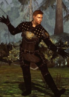 """Just so you know, if the king ever asks me to put on a dress and dance the Remigold, I'm drawing the line. "" - Alistair, Dragon Age: Origins (people like to complain about Alistair but I love him)"
