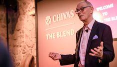 Ο θρυλικός Custodian Master Blender του Chivas Regal, Colin Scott, μιλάει στον Τάσο Μητσελή με αφορμή ένα ξεχωριστό FNL Event που έγινε στο πλαίσιο του Chivas-The Blend, στο Μεταλλουργείο. Company Logo, Spirit, Amazon, People, Amazons, Riding Habit, People Illustration, Folk