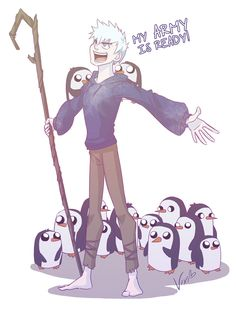 Jacks Army - Rise of the Guardians by ~xxMeMoRiEzxx. I found this wwwaayyy too funny!!!