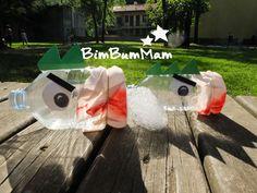 Giochi estivi per bambini. Scoprite questa attività di riciclo creativo per giocare all'aperto! BimBumMam