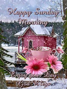 Happy Sunday Morning. God Bless.