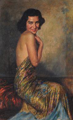 Portrait of a lady - Arturo Noci