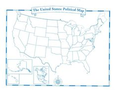 Print Full Page Maps Blank Map Of Usa States 50 tips for face