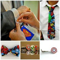 Superheros – always in style.