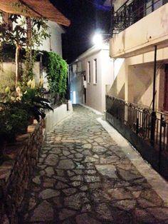 Walking around Spartochori Village