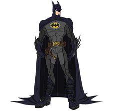 Modernized Batman by RazorsEdge701.deviantart.com on @deviantART