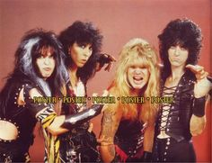 Image detail for -That's W.A.S.P, a hair metal band from the 80's. She has a child with ...