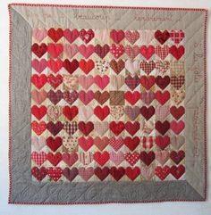 Happy Valentine's Day! Seen here: http://quilteuseforever.wordpress.com/