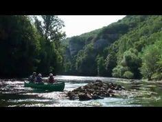 Canoes Vallee Vezere, Location de canoës kayaks, Les Eyzies, - YouTube