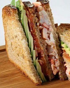 Lobster club sandwich. #loveletters #love #life #food #foods #foodie #foodporn #foodlover #foodgasm #foodgram #foodstagram #foodpic #foodpics #tasty #delicious #delish #healthy #healthyfood #healthyeating #yum #yummy #eat #Hungry #foodphotography #foodblogger
