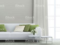 Superbe salle de séjour – banque photo libre de droits