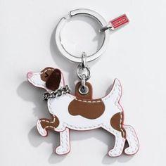 ShopStyle: Leather Dog Keyfob
