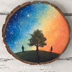 6 Amazing Wood Panel Art For Home Decor – Painting Ideas For Beginner - Aquare. - 6 Amazing Wood Panel Art For Home Decor – Painting Ideas For Beginner – Aquarell – # - Home Decor Paintings, Easy Paintings, Decorative Paintings, Interior Painting Ideas, Paintings Of Trees, Living Room Paintings, Wood Paintings, Amazing Paintings, Amazing Drawings
