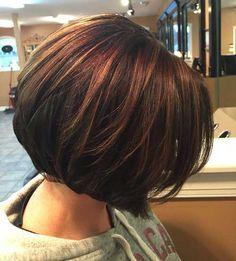 20 Brunette Bob Hairstyles | http://www.short-hairstyles.co/20-brunette-bob-hairstyles.html