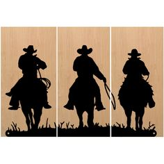 Vintage Cowboy Western Screen Print Wood Painting Wall Art Horse Home... (€125) ❤ liked on Polyvore featuring home, home decor, wall art, dark olive, home & living, home décor, wall décor, horse home decor, wood home decor and wood painting