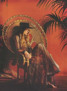 "Singer and mega babe Zella Day for Playboy Magazine ""Becoming Attraction"" issue by photographer Josh Reed! on Bohemian Diesel now! Mode Hippie, Hippie Bohemian, Boho Gypsy, Hippie Chic, Bohemian Room, Gypsy Style, Hippie Style, Bohemian Style, Bohemian Lifestyle"