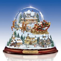Thomas Kinkade Snow Globe