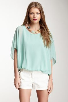 Vince Camuto Dolman Sleeve Blouse by Vince Camuto on @HauteLook