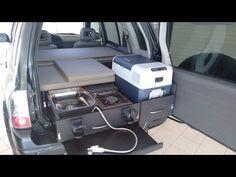 4x4 Micro Camper | Chevrolet Tracker = Suzuki Grand Vitara - YouTube