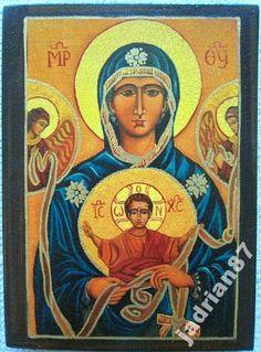 Ikona Matka Boża Supełkowa rozwiązująca problemy