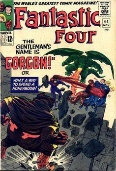 Fantastic Four #44. Gorgon, Medusa and the Dragon Man.  #FantasticFour