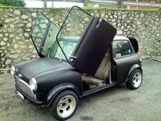 Mini Cooper with scissor doors