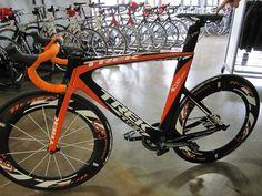 Trek speed concept 9-series tri bike