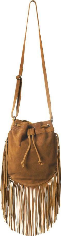 Piper Fringe Hobo Bag   Perfect summer festival bag! $54