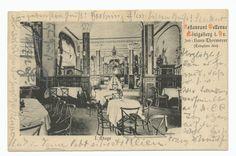 Königsberg (Pr.), Restaurant Bellevue, Inneneinrichtung in der I. Etage