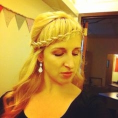 Instead of the bangs - make a braid!