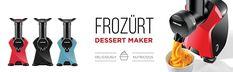 Frozurt Soft Serve Ice Cream Machine Reviews Make Ice Cream, Vegan Ice Cream, Ice Cream Maker, Best Food Processor, Food Processor Recipes, Gelato Maker, Dessert Makers, Automatic Espresso Machine