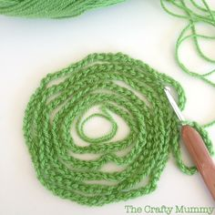 This crochet-along from Crafty Mummy is specifically geared to beginners wanting to learn to crochet a super-easy blanket.