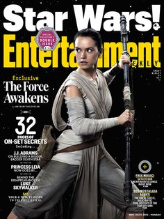 Entertainment Weekly's Exclusive Look at Star Wars: The Force Awakens! Harrison Ford Interview. #starwars