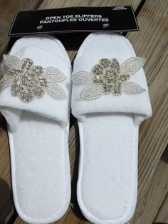 Bridal slippers bling bling slippers Rhinestone by LovelyBride2B