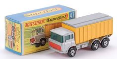 Matchbox Superfast MB47-c DAF tipper container truck