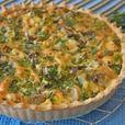 Киш лорен с курицей, грибами, брокколи Источник: http://www.povarenok.ru/recipes/show/132889/