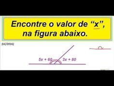 Curso de Matemática Ângulos suplementares Retas concorrentes ou transver...   https://youtu.be/dcJBJSaIYqM