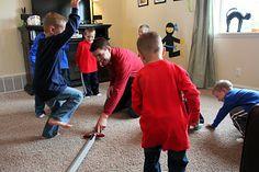 swords, ninja training